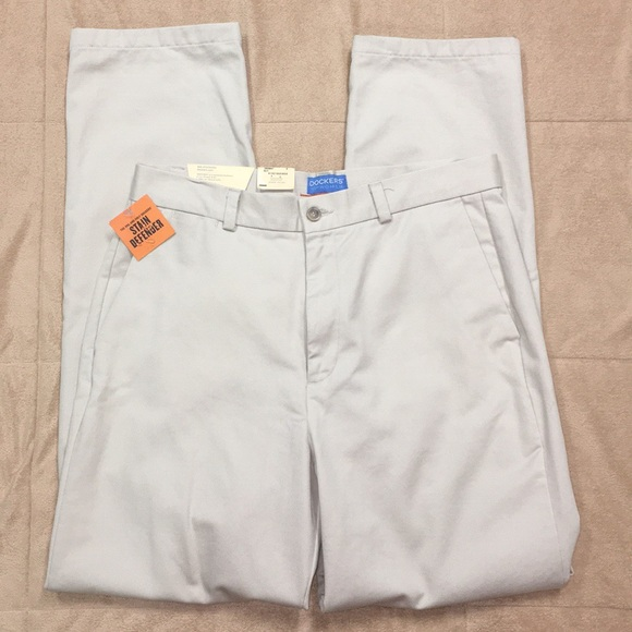 high fashion 100% genuine buying new NWT LADIES DOCKERS STAIN DEFENDER KHAKI PANTS NWT